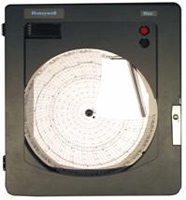 Honeywell Dr4500 Truline Circular Chart Recorder Recorders