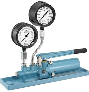 Ashcroft 1327D Pressure Gauge Comparator | Calibration Pumps and Pressure Sources | Ashcroft-Pressure Calibrators |  Supplier Nigeria Karachi Lahore Faisalabad Rawalpindi Islamabad Bangladesh Afghanistan